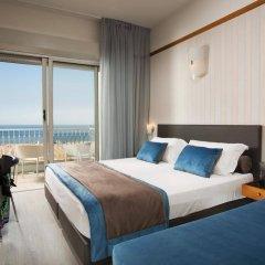 Hotel Continental Rimini Римини комната для гостей фото 2