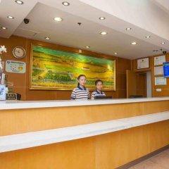 Отель 7 Days Inn Beijing Jiaohuachang Subway Station Xizhihe Branch Китай, Пекин - отзывы, цены и фото номеров - забронировать отель 7 Days Inn Beijing Jiaohuachang Subway Station Xizhihe Branch онлайн интерьер отеля фото 2