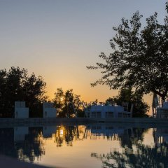 Отель Relais Castelbigozzi Строве бассейн