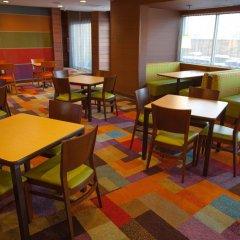 Отель Fairfield Inn & Suites by Marriott Columbus Airport США, Колумбус - отзывы, цены и фото номеров - забронировать отель Fairfield Inn & Suites by Marriott Columbus Airport онлайн питание фото 3