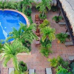 Отель La Pasion Hotel Boutique Мексика, Плая-дель-Кармен - отзывы, цены и фото номеров - забронировать отель La Pasion Hotel Boutique онлайн балкон