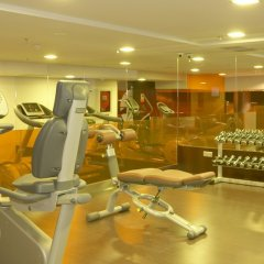 Отель Fira Congress Испания, Оспиталет-де-Льобрегат - 1 отзыв об отеле, цены и фото номеров - забронировать отель Fira Congress онлайн фитнесс-зал фото 2