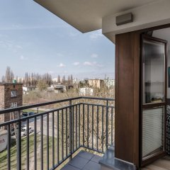 Отель Chill Apartment Польша, Варшава - отзывы, цены и фото номеров - забронировать отель Chill Apartment онлайн балкон