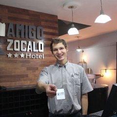 Hotel Amigo Zocalo Мехико интерьер отеля фото 3