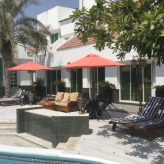 Отель Al Khalidiah Resort ОАЭ, Шарджа - 1 отзыв об отеле, цены и фото номеров - забронировать отель Al Khalidiah Resort онлайн бассейн фото 3