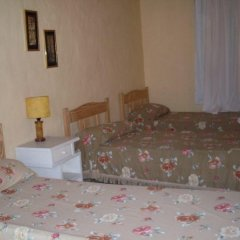 Отель Cabañas El Eden Сан-Рафаэль сейф в номере