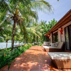Отель Vinh Hung Riverside Resort & Spa балкон