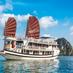 Отель Swan Cruises Halong пляж фото 2