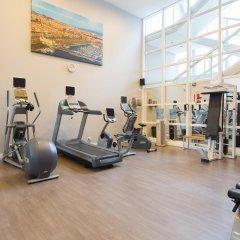 Отель Hilton Barcelona фитнесс-зал