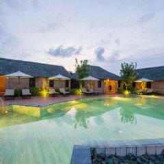 Отель Boutique Cam Thanh Resort бассейн