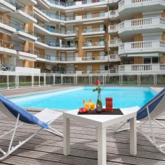 Отель Aparthotel Adagio access Nice Magnan бассейн фото 2