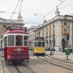 Отель Ibis Lisboa Liberdade Лиссабон городской автобус