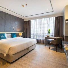 Отель Well Hotel Bangkok Таиланд, Бангкок - отзывы, цены и фото номеров - забронировать отель Well Hotel Bangkok онлайн комната для гостей фото 5