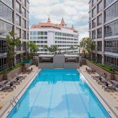 Отель Park Avenue Clemenceau Сингапур, Сингапур - отзывы, цены и фото номеров - забронировать отель Park Avenue Clemenceau онлайн бассейн