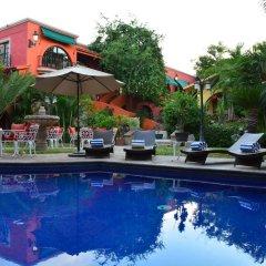 Отель Boutique Casa Bella Мексика, Кабо-Сан-Лукас - отзывы, цены и фото номеров - забронировать отель Boutique Casa Bella онлайн бассейн фото 2