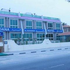 Отель Dana Al Buhaira Beach Hotel ОАЭ, Шарджа - отзывы, цены и фото номеров - забронировать отель Dana Al Buhaira Beach Hotel онлайн вид на фасад