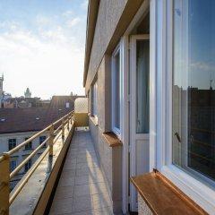 Отель Myo Hotel Mysterius Чехия, Прага - отзывы, цены и фото номеров - забронировать отель Myo Hotel Mysterius онлайн балкон