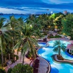 Отель Cholchan Pattaya Beach Resort балкон