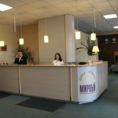 Гостиница Мирный курорт Одесса интерьер отеля фото 3