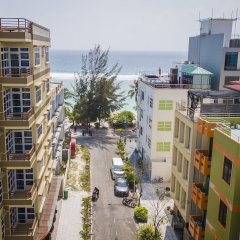 Отель Three Inn Мальдивы, Северный атолл Мале - отзывы, цены и фото номеров - забронировать отель Three Inn онлайн пляж