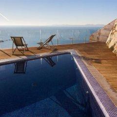 Отель Agi Joan Margarit Испания, Курорт Росес - отзывы, цены и фото номеров - забронировать отель Agi Joan Margarit онлайн бассейн фото 3