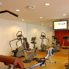 Отель Crowne Plaza Brussels - Le Palace фитнесс-зал
