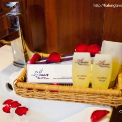 Отель Halong Lavender Cruises ванная фото 2