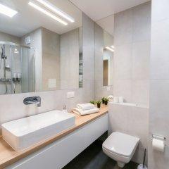 Отель Q17 Apartments Польша, Вроцлав - отзывы, цены и фото номеров - забронировать отель Q17 Apartments онлайн ванная фото 2