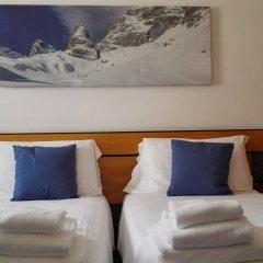 Отель Albergo Delle Alpi Беллуно комната для гостей фото 5