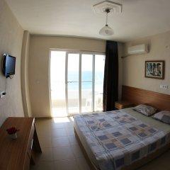 Отель Mavi Cennet Camping Pansiyon Сиде комната для гостей фото 5
