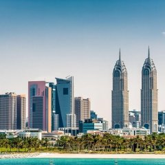 Al Salam Grand Hotel Apartment пляж