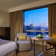Отель Hyatt Regency Belgrade Белград комната для гостей фото 4