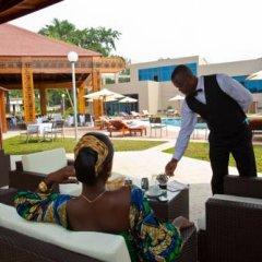 Отель Ledgerplaza Maya Maya Республика Конго, Браззавиль - отзывы, цены и фото номеров - забронировать отель Ledgerplaza Maya Maya онлайн питание