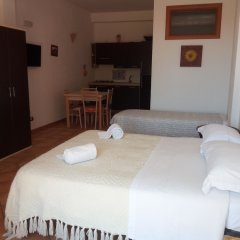 Отель Residence Nuovo Messico Италия, Аренелла - отзывы, цены и фото номеров - забронировать отель Residence Nuovo Messico онлайн комната для гостей фото 2