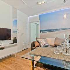 Апартаменты Imperial Apartments - Balticana II Сопот комната для гостей фото 3