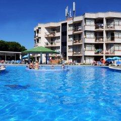 Отель Apartamentos ALEGRIA Bolero Park Испания, Льорет-де-Мар - 2 отзыва об отеле, цены и фото номеров - забронировать отель Apartamentos ALEGRIA Bolero Park онлайн бассейн фото 2