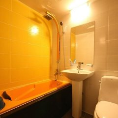 Отель Sara Motel Южная Корея, Тэгу - отзывы, цены и фото номеров - забронировать отель Sara Motel онлайн ванная