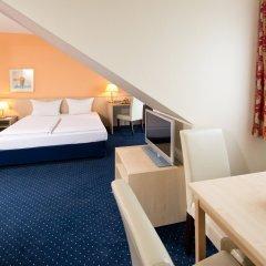 Отель ACHAT Comfort Messe-Leipzig комната для гостей фото 4