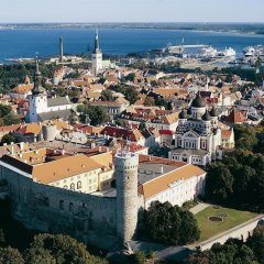 Апартаменты Tallinn Luxury Apartments with sauna and old town view