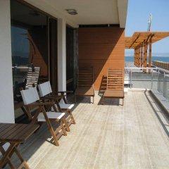 Отель Pomorie Bay Apartments and Spa Болгария, Поморие - отзывы, цены и фото номеров - забронировать отель Pomorie Bay Apartments and Spa онлайн балкон