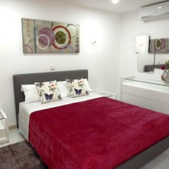 Апартаменты Apartment With 2 Bedrooms in Albufeira, With Wonderful sea View, Pool комната для гостей