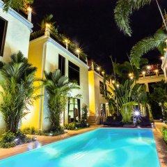 Palm Oasis Boutique Hotel бассейн фото 3