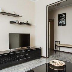 Апартаменты DailyRooms Na Berezhkovskoy Naberezhnoy Apartments Москва комната для гостей фото 3