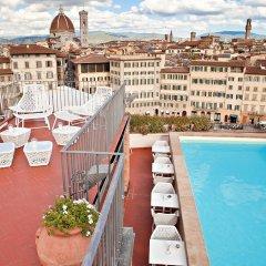 Отель Grand Hotel Minerva Италия, Флоренция - 5 отзывов об отеле, цены и фото номеров - забронировать отель Grand Hotel Minerva онлайн балкон