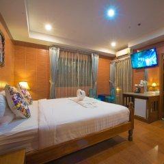 Отель VITS Patong Dynasty 3* Номер Делюкс разные типы кроватей
