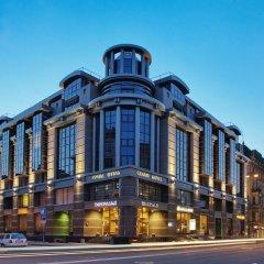 Гранд Отель Эмеральд Санкт-Петербург вид на фасад