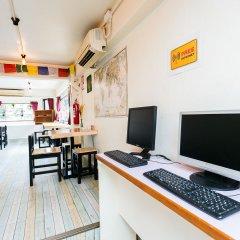 AlphaBed Hostel Bangkok интерьер отеля