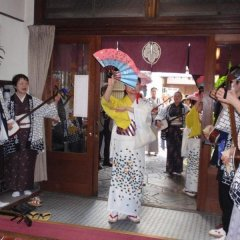 Отель Japanese Ryokan Kashima Honkan Фукуока развлечения