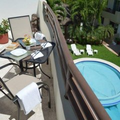 Отель Margaritas by HBM Плая-дель-Кармен балкон