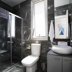 Отель Paradise Cove Luxurious Beach Villas Кипр, Пафос - отзывы, цены и фото номеров - забронировать отель Paradise Cove Luxurious Beach Villas онлайн ванная фото 2